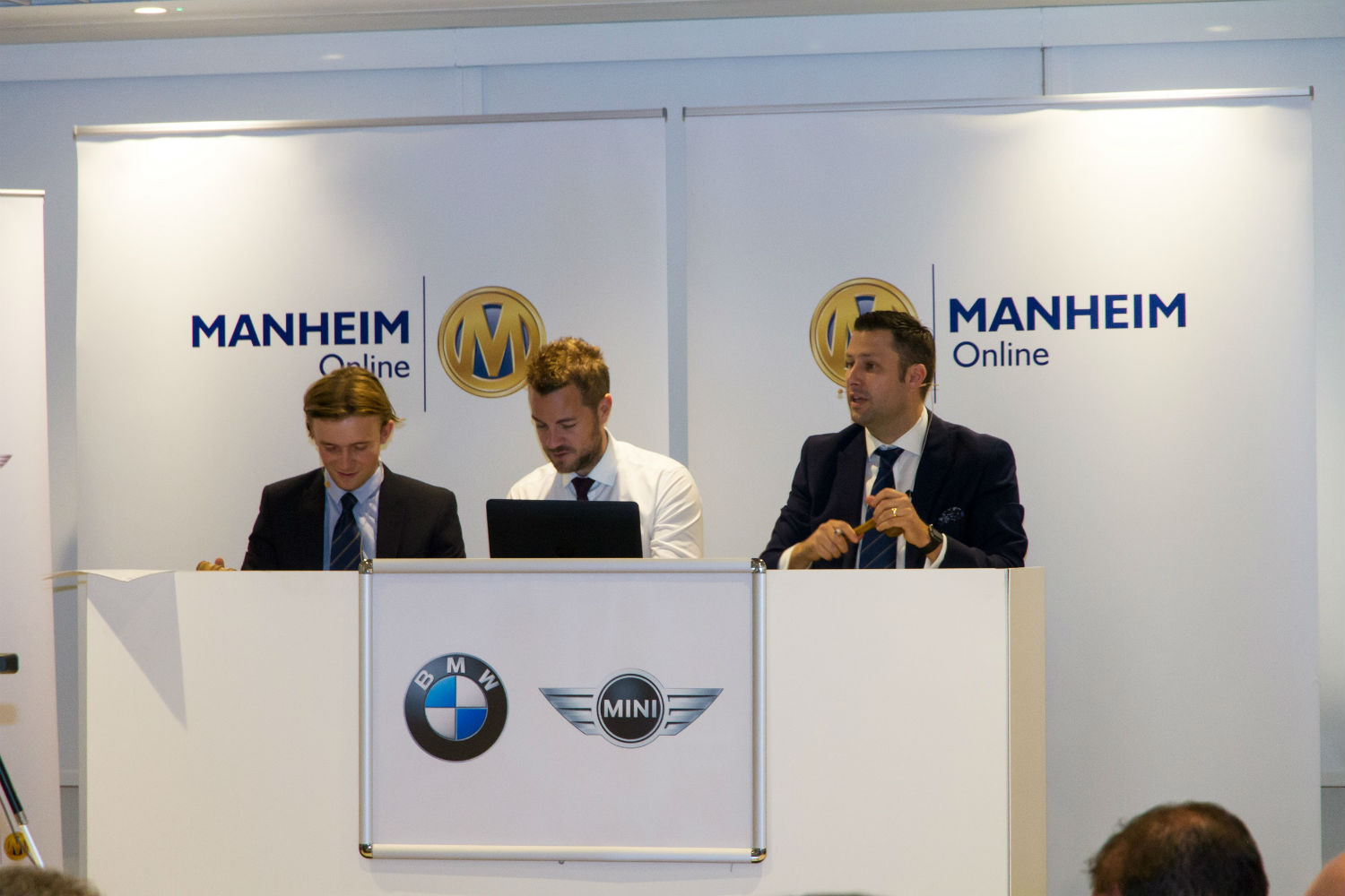 BMW Group offsite auction hosted by Manheim