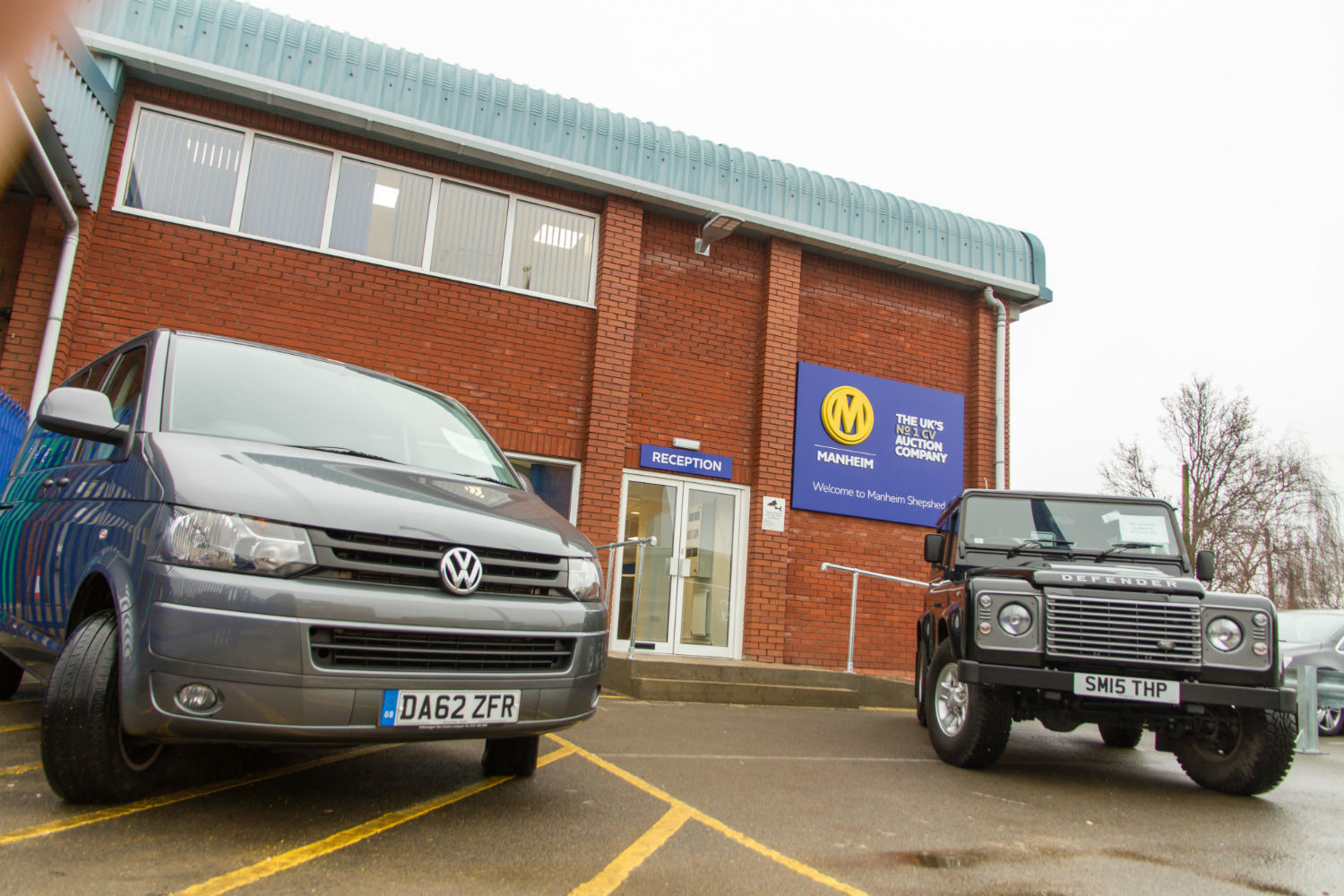 Manheim commercial vehicle auction centre in Shepshed