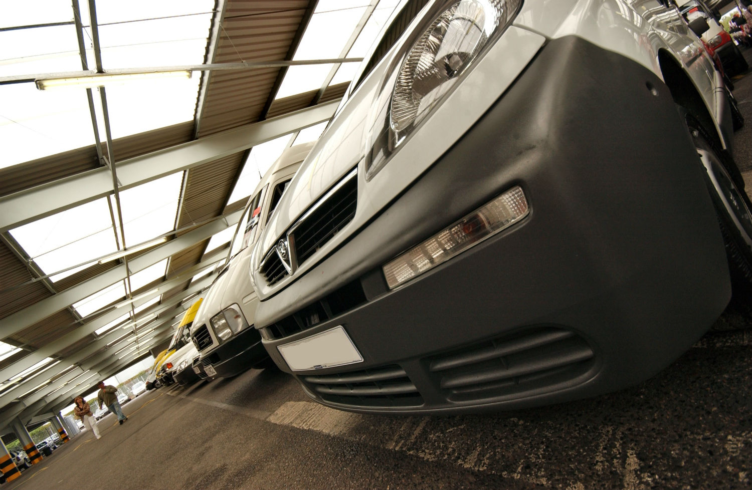 Commercial vehicles at Manheim auctions