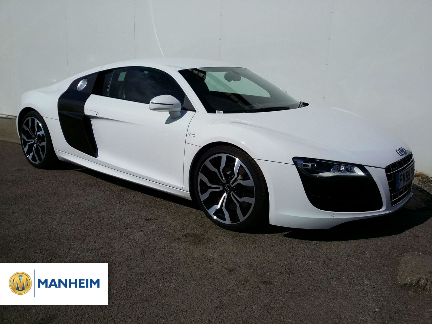 Audi R8 sold at Manheim Northampton