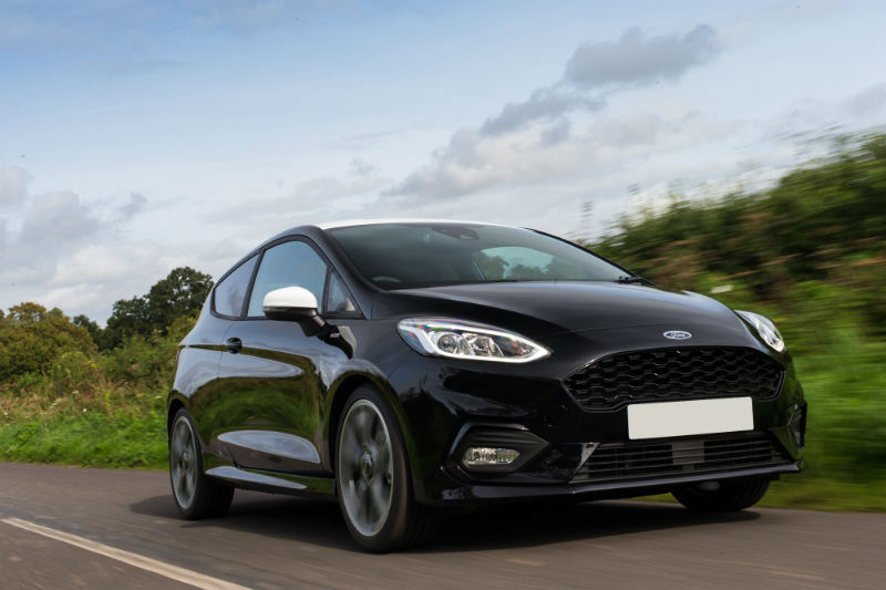 A Black Ford Fiesta is the most popular used car combination in 2017