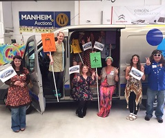 Manheim Gloucester's 1960s themed charity day