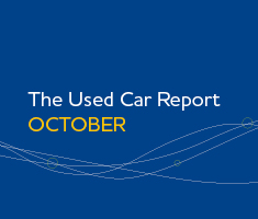 The used car report October