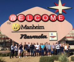 Manheim and Citroen at Nevada Las Vegas