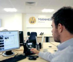 Our Manheim sales teams are happy to help
