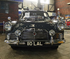 Ford Zephyr Mark II sold at a Manheim auction