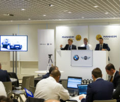 Bidders are a BMW Group offsite auction hosted by Manheim