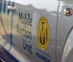 Manheim's Mobiel Auction Unit