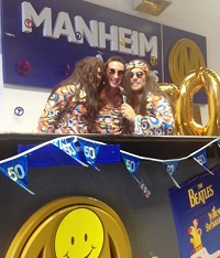 Manheim stepped back into the 60s to celebrate Transit's 50th