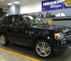 4x4 Range Rover at auction