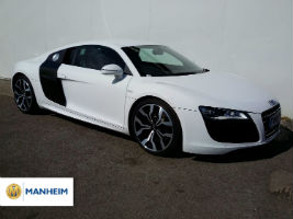 Audi R8 auctioned at Manheim Northampton