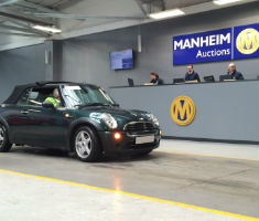 BMW MINI at a Manheim auction