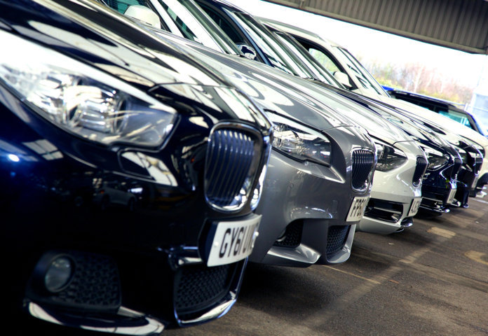 Vehicles stored at Manheim Colchester