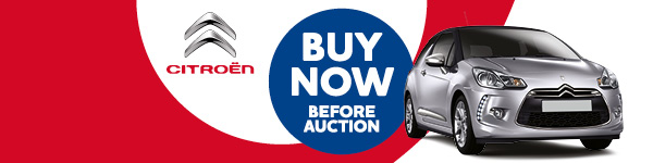 Citroën cars available to Buy Now before the auction