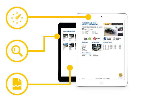 Review every detail with our improved inspection reports