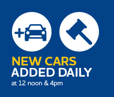 New cars added at 12noon and 4pm