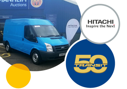 Hitachi donated van with all proceeds from the auction sale going to charity