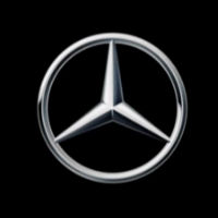 Mercedes-Benz cars UK Ltd white logo