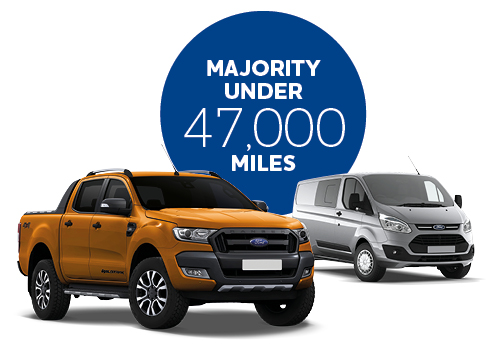 Majority of ALD vehicles with under 47,000 miles
