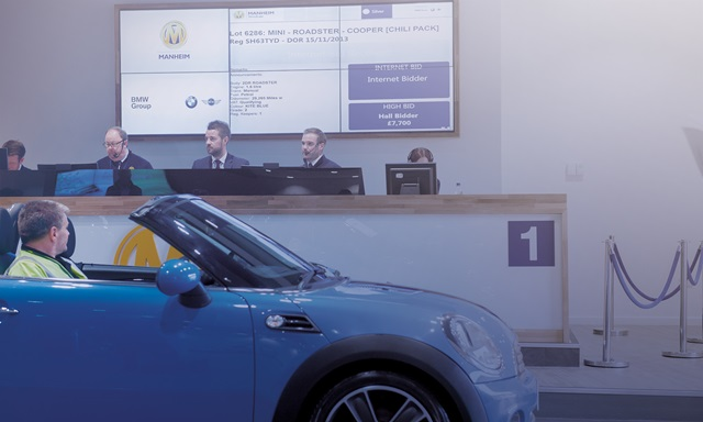Manheim auction at Bruntingthorpe