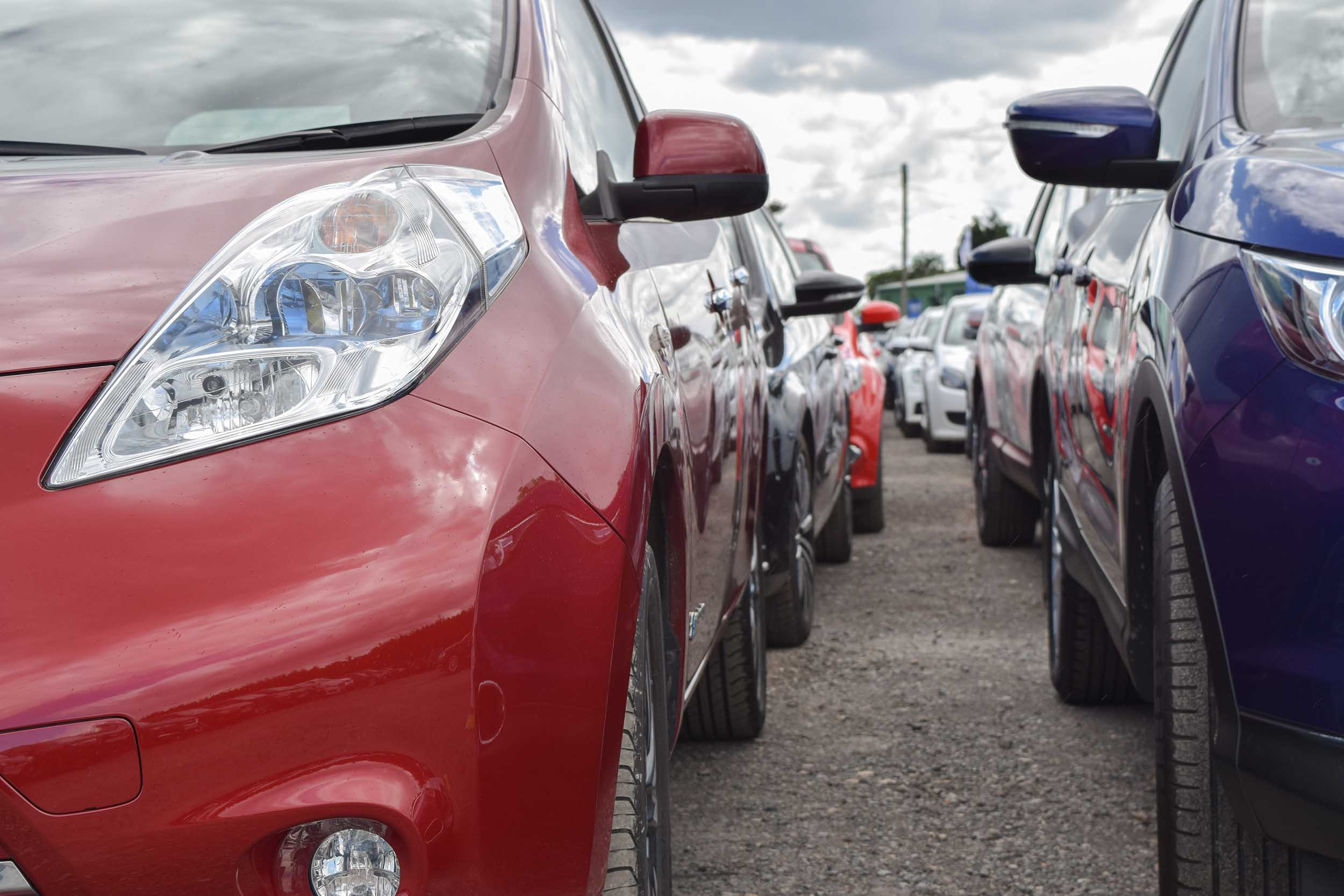 Car auction at Manheim