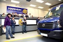 van auction